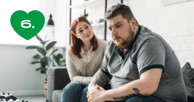 Príbeh partnerského trojuholníka: ja, on a obezita