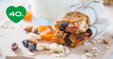Zdravý snack: domáca müsli tyčinka